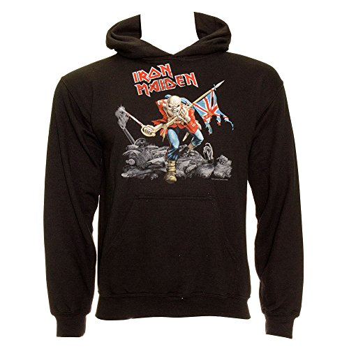 Felpa Iron Maiden Trooper (Nero) - Medium