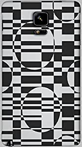 Timpax protective Armor Hard Bumper Back Case Cover. Multicolor printed on 3 Dimensional case with latest & finest graphic design art. Compatible with only Samsung Galaxy Note 4. Design No :TDZ-21547