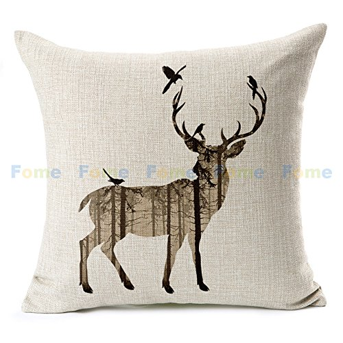 fome-animal-cotton-linen-pillow-cushion-caes-cover-throw-pillow-coverdeer-fome-gift