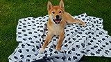 2er Set ( =2 Stück) Herrlich flauschige Haustierdecke / Hundedecke aus Vlies