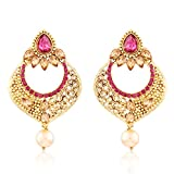 I Jewels Gold Plated Traditional Kundan ...