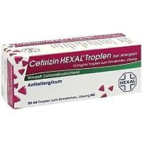 Preisvergleich für Cetirizin Hexal, 20 ml Tropfen