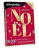 Wonderbox - Coffret cadeau noël - JOYEUX NOEL Emotion - 8820 séjours, repas, soins détente ou loisir