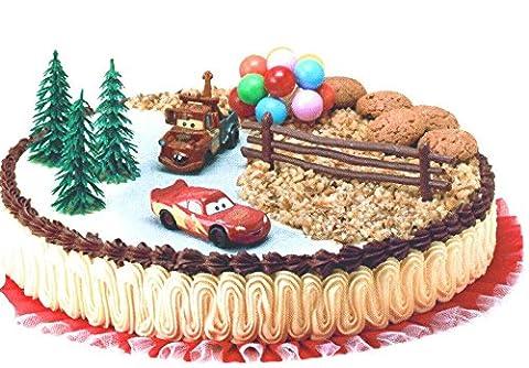 Cake Topper Kit Disney Cars - Cake Design for Children Birthday