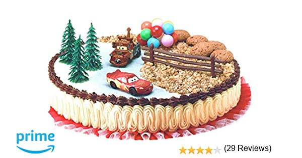 Decorazioni Torte Cinesi : Modecor decorazioni torta disney cars multicolore amazon