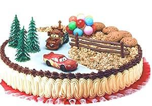 Unbekannt 7 teiliges dekorationsset von cars spielzeug - Kuchendeko foto ...
