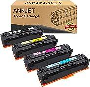 ANNJET Compatible Toner Cartridge Replacement for HP 201A CF400A CF401A CF402A CF403A for HP Color Laserjet Pr