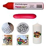 TrendLight  Wachsdesigner mittelrot glänzend 30 ml inkl. ausführlicher Anleitung mit Bilder