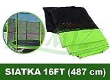 BSD Gitter für Trampoline 16FT Grün