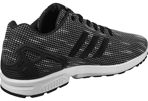 adidas ZX Flux, Chaussures de Fitness Homme, Noir noir blanc