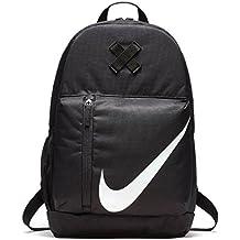 NIKE Kids' Elemental Backpack Mochila, Unisex Niños, Negro/Negro/Blanco, MISC