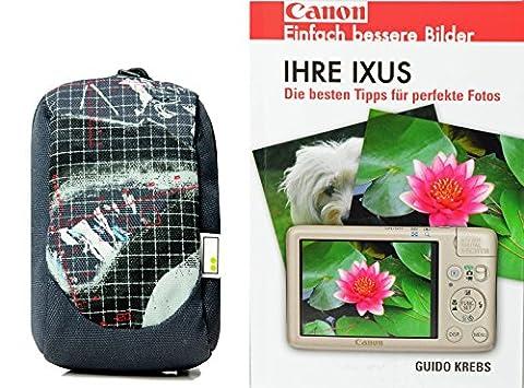 Progallio Foto-Tasche Kameratasche HAMA AHA 70J plus Fotobuch IHRE IXUS für Canon