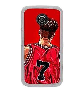 Player 2D Hard Polycarbonate Designer Back Case Cover for Motorola Moto E (1st Gen) :: Motorola Moto E XT1021 :: Motorola Moto E Dual SIM :: Motorola Moto E Dual SIM XT1022 :: Motorola Moto E Dual TV XT1025