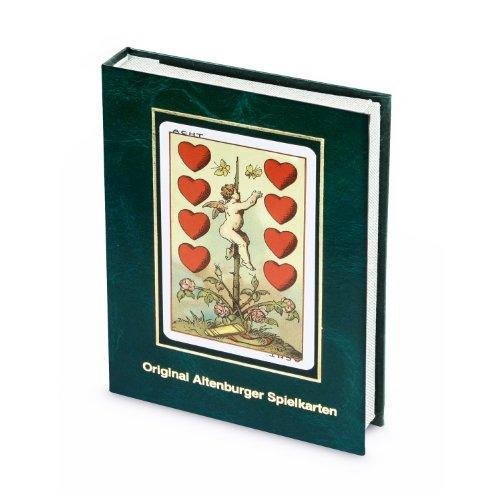ASS Altenburger 22111504 Mittelalterkarte, Kartenspiel im Stil des Historismus um 1886