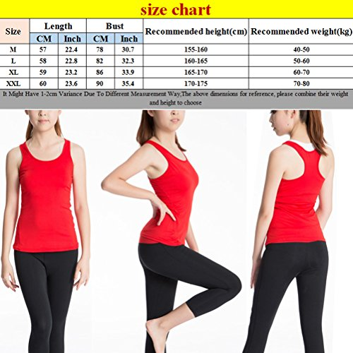 Zhhlaixing Womens Ladies Sports Vest Top Stretch Cool Dry Wicking Fitness Gym Yoga Run white