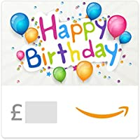 Happy Birthday (Coloured Balloons) - Amazon.co.uk eGift Voucher