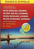MARCO POLO Reiseatlas Benelux, Belgien, Niederlande, Luxemburg 1:200 000 (MARCO POLO Reiseatlanten) -