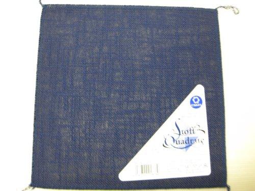 Coats Stoff Quadrate 20x20cm, dunkelblau, 1Stk.