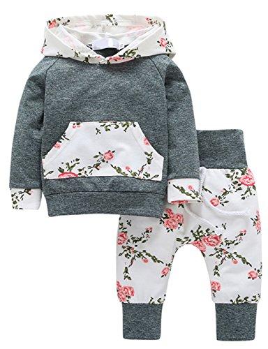 Scothen Babykleidung Strampler Neugeborene Kleidung 3T-7T Baby Jungen Mädchen Kürbis T-Shirt Teufel Lange Hülse Tops + Hosen Stilvoll O-Ausschnitt Kapuzenhemd Pulloverhemd Hoodie Outfits Set