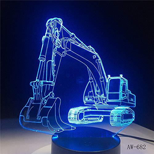 Luce notturna grafica astratta 7 lampada touch colorata lampada da tavolo comodino lampada lava decorativa per bambini 12 Regolato