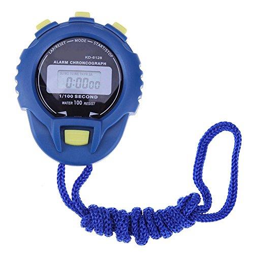 demiawaking Wasserdicht LCD Digital Stoppuhr Timer Chronograph Zähler Sport Alarm 2
