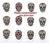 FOTN Personnalisation Photo Prise en Charge Pics Guitare pour médiators, Guitares acoustiques ou Guitares Basses 12pcs