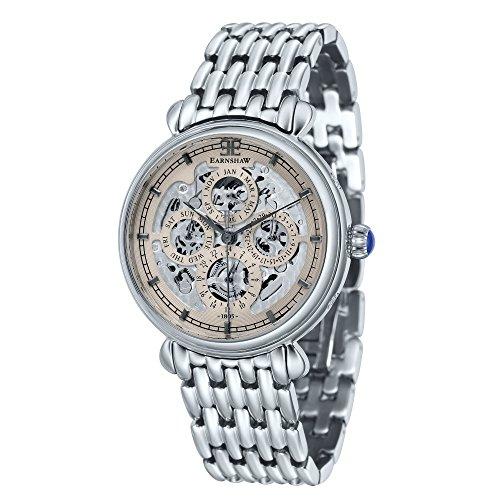 Thomas Earnshaw ES-8043-33 Montre bracelet homme Acier inoxydable Argent