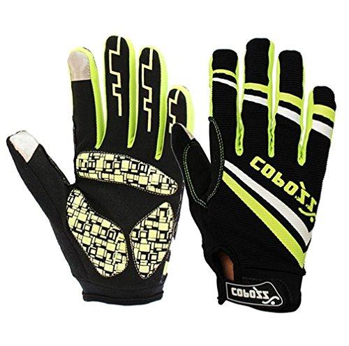 COPOZZ Outdoor Gloves for Men & Women (Green, L)