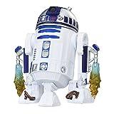 Star Wars R2 D2 Figur aus Star Wars Episode VIII bewegliche Spiel und Sammelfigur Star Wars Figur mit Force Link