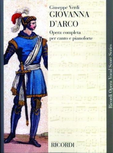 Partitions classique RICORDI VERDI G. - GIOVANNA D ARCO - CHANT ET PIANO Voix solo, piano par