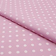 Puntos Lunares 7mm popelina tela algodón en muchos colores Metro