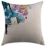 This nice pillow is not only soft and comfortable,and has a strong decorative.Perfect decorate for your bedding,home,living room, sofa,chair and so on.It is also can be as a wonderful and practical gift or present for Valentine's Day,Father's Day,Tea...