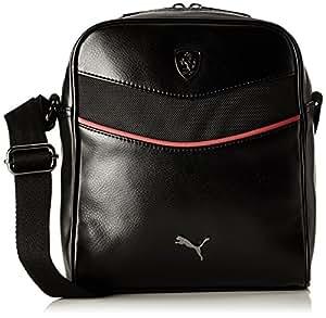 Puma Ferrari Synthetic 3.5 Ltrs Black Messenger Bag (7394101)