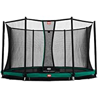 Berg Toys 35.11.04.00 Trampolin Inground Favorit mit Sicherheitsnetz Comfort