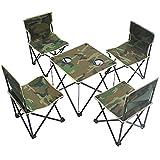 KOKR Indoor/Outdoor Klappstühle Tisch Und Stuhl Set
