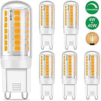 Halogène éco G9 économie d/'énergie ampoules remplacement pour 25W 40W 60W G9 halogènes