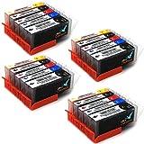 20 Drucker patronen kompatibel zu Canon PGI 550XL CLI 551XL für Canon PIXMA MX925 Canon PIXMA IP7250 IP8750 IX6850 MG5450 MG5550 MG6350 MG6450 MG7150 MX725 MX925 iX6850 MIT CHIP