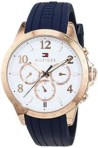Tommy Hilfiger - Reloj De Pulsera de Mujer analógico de cuarzo, Silicona 1781645