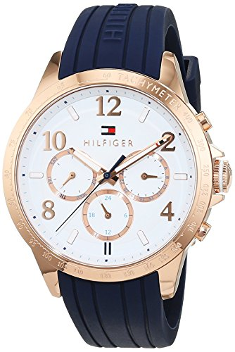Tommy Hilfiger Sophisticated 1781645 Orologio analogico da donna, al quarzo, in silicone