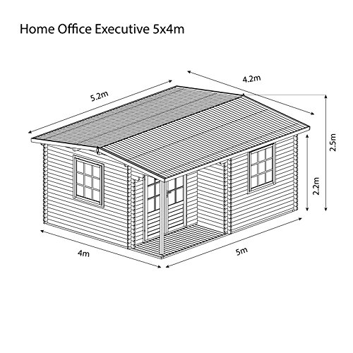 Waltons-6m-x-5m-Home-Office-Executive-Wooden-Stylish-Log-Cabin