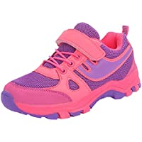 0089fc5d93b DADAWEN Unisex Kids Boys Girls Outdoors Trainers Athletic Strap Running  Sports Shoes