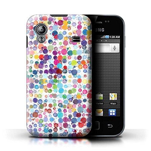 Stuff4® Hülle/Case für Samsung Galaxy Ace/Bunte Punkte Muster/Wintermode Kollektion
