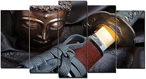 DekoArte – Cuadro moderno Buda zen 115 150x80cm