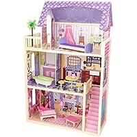 KidKraft 65092 Casa de muñecas Kayla de madera