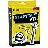 Speedlink SL-210100-BK Starter Kit für GoPro ( Selfie-Stick, Headstrap, Gewinde-Adapter) schwarz
