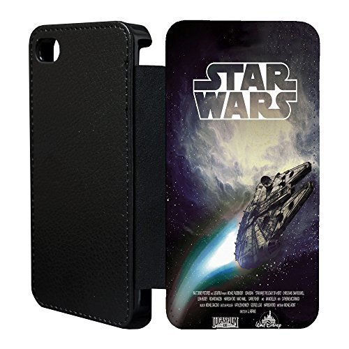 Star Wars Flip Case Cover for Apple iPhone 6 - T1903 - Millenium Falcon