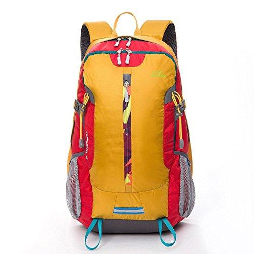 YYY-Borse a spalla indossare idrorepellente moda tempo libero Sport pacchetto zaino da viaggio all'aperto , green Yellow