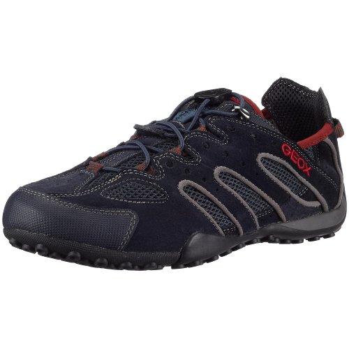 Geox Uomo Snake U0107Y02214C5267 Herren Sneaker Blau (Navy/Redc0735)