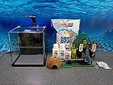 Aqua Orion 25 schwarz Nano Aquarium Komplettaquarium inkl Dekoration LED