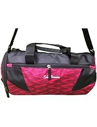 Shopaholic Polyester ZigZag Multicolor Stripe Travel Duffle Gym Bag